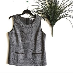 Cabi Women's Tops Style 993 Sleeveless Gray Top